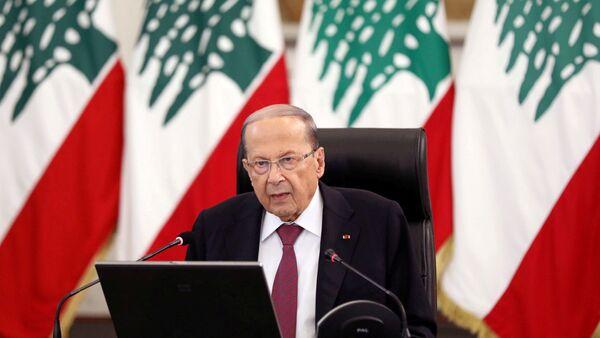 Lebanon's President Michel Aoun - Sputnik Italia