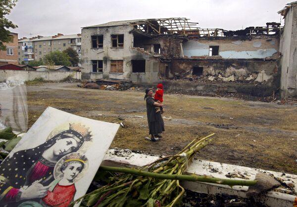 Una scuola di Beslan da dove non sono mai più usciti 186 bambini - Sputnik Italia