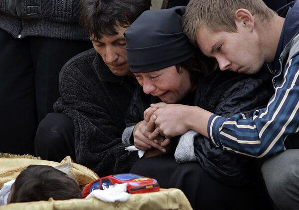 La strage di Beslan nella repubblica dell'Ossezia del Nord, Russia - Sputnik Italia