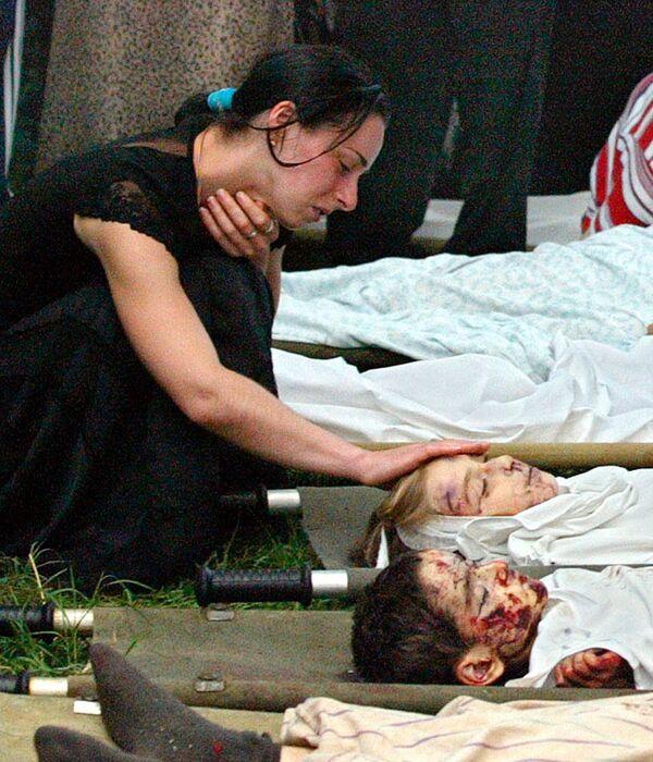 Le vittime della strage di Beslan, Russia - Sputnik Italia