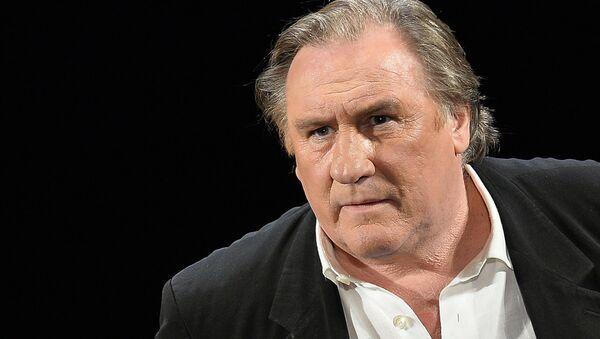 Gérard Depardieu in La Musica Deuxième production at the Moscow Variety Theater. (File) - Sputnik Italia