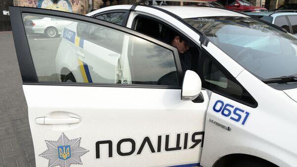 Автомобиль полиции в Киеве - Sputnik Italia