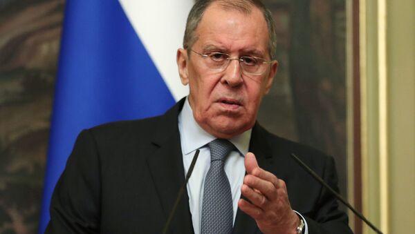 Министр иностранных дел РФ Сергей Лавров  - Sputnik Italia