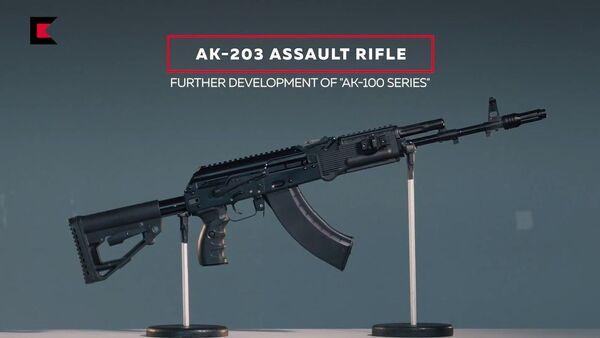 AK-203  - Sputnik Italia