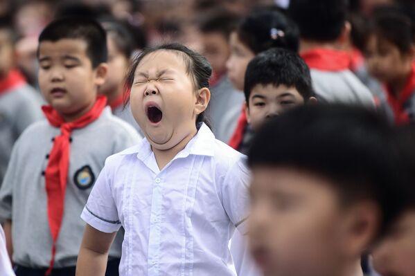 Primo giorno a scuola, Cina - Sputnik Italia