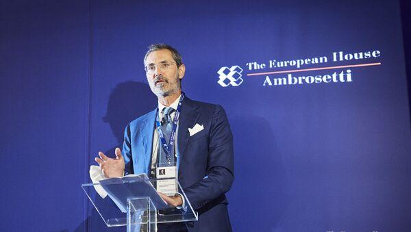 Managing Partner e Amministratore Delegato, The European House - Ambrosetti, Valerio De Molli - Sputnik Italia