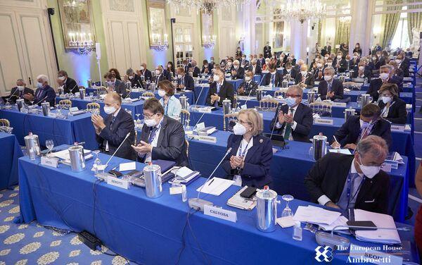 Il forum The European House - Ambrosetti - Sputnik Italia