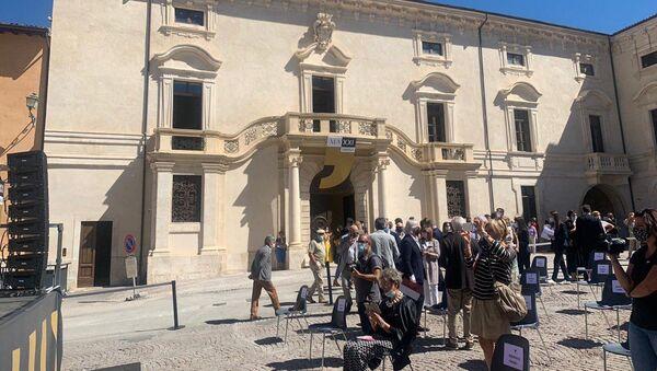Palazzo Ardinghelli all'Aquila - Sputnik Italia