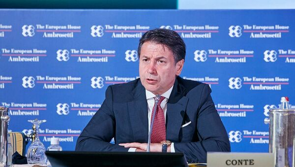 L'intervento del presidente Conte al Forum di Cernobbio - Sputnik Italia