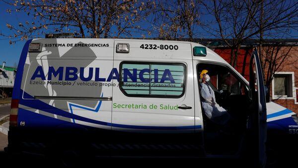 Ambulanza in Argentina - Sputnik Italia