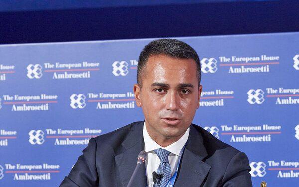 Luigi Di Maio al forum The European House - Ambrosetti a Cernobbio - Sputnik Italia