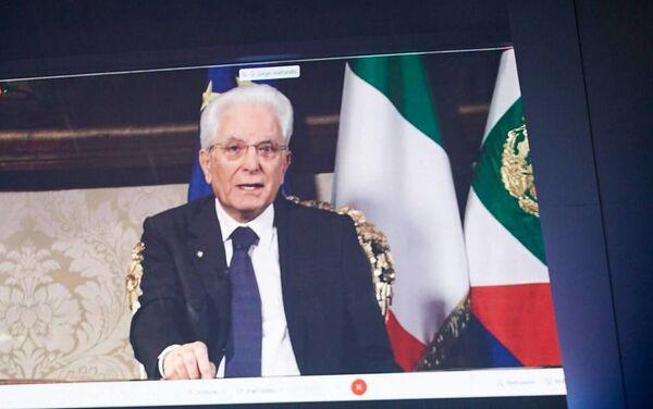Presidente Mattarella al forum The European House - Ambrosetti a Cernobbio - Sputnik Italia