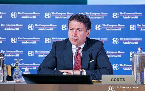 Premier Conte al forum The European House - Ambrosetti a Cernobbio - Sputnik Italia