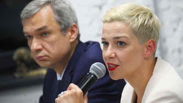 Politica dell'opposizione bielorussa Maria Kolesnikova a Minsk - Sputnik Italia