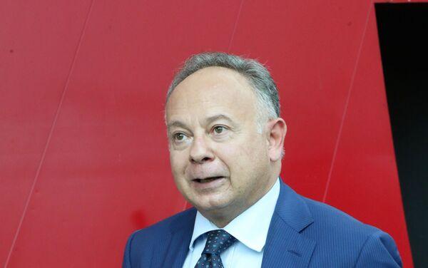 Carlo Maria Ferro, Presidente ICE - Sputnik Italia
