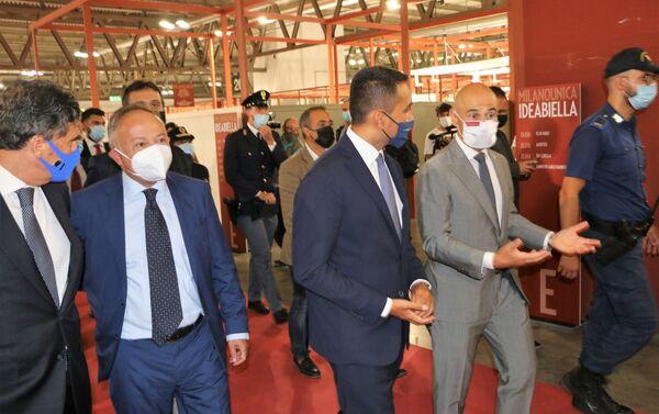 Luigi Di Maio alla cerimonia inaugurale della 31ª edizione di Milano Unica  - Sputnik Italia