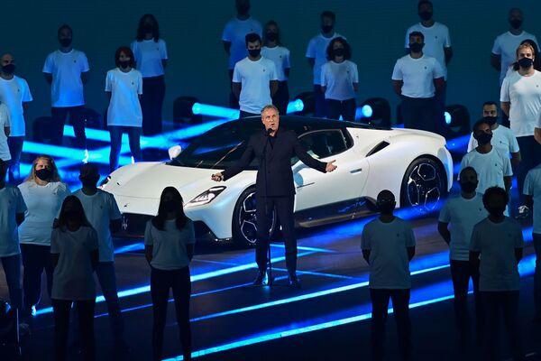 La Maserati Mc20 sarà una vettura di ispirazione totalmente nuova, che adotterà un telaio in fibra di carbonio di origine Dallara. - Sputnik Italia