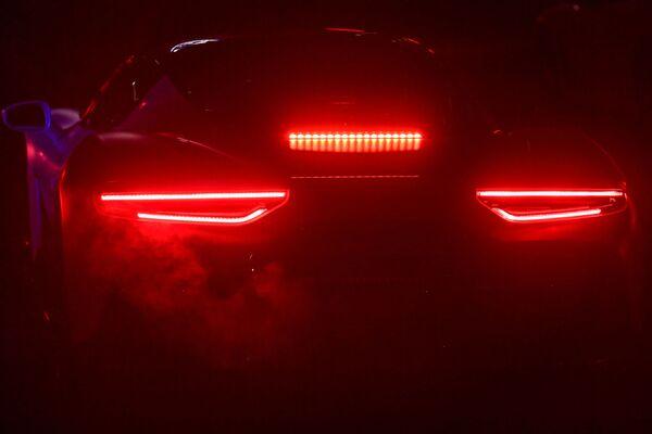 """""""Time to be audacious"""" è lo slogan usato da Maserati per l'attesissimo evento di presentazione della nuovissima supercar V6 che segna una nuova era per il Tridente.  - Sputnik Italia"""