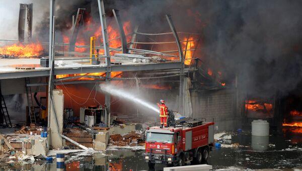 Incendio a Beirut, il 10 settembre 2020 - Sputnik Italia
