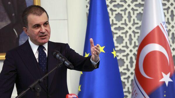 Omer Celik, portavoce del partito della Giustizia e dello Sviluppo (AKP) al governo turco - Sputnik Italia