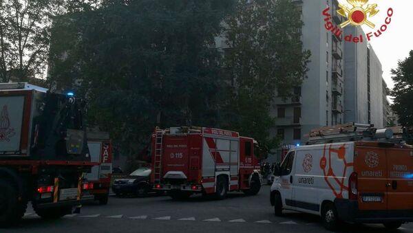 Esplosione Milano  - Sputnik Italia