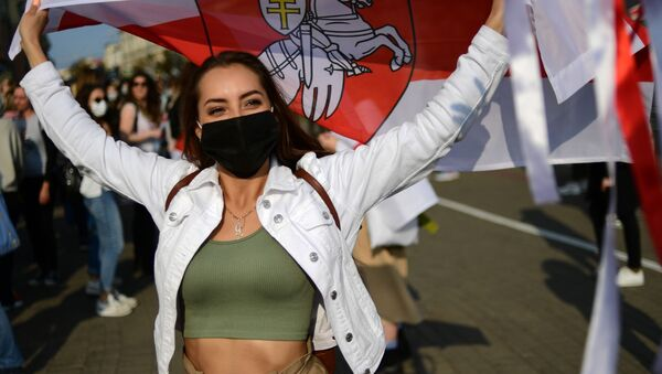 Marcia delle done a Minsk  - Sputnik Italia