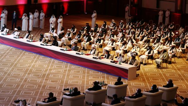 Negoziati tra governo afghano e talebani a Doha - Sputnik Italia
