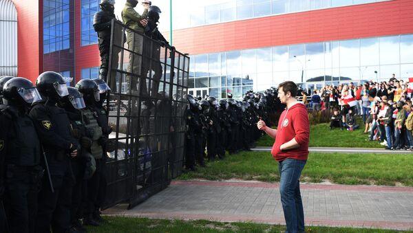 Un corteo dell'opposizione bielorussa a Minsk - Sputnik Italia