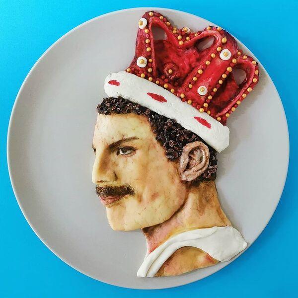 Viso del cantautore, compositore e musicista britannico Freddie Mercury - Sputnik Italia