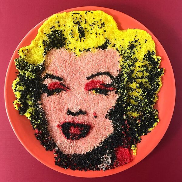 Viso dell'attrice statunitense Marilyn Monroe  - Sputnik Italia
