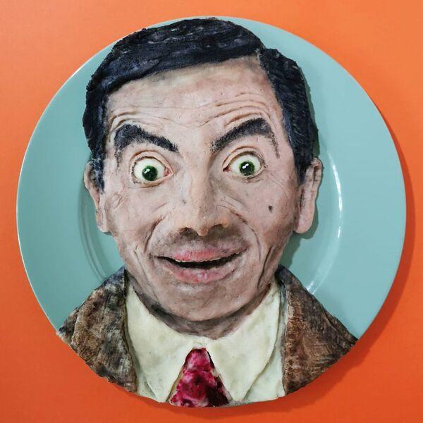 Viso del personaggio immaginario interpretato dall'attore britannico Rowan Atkinson Mister Bean - Sputnik Italia