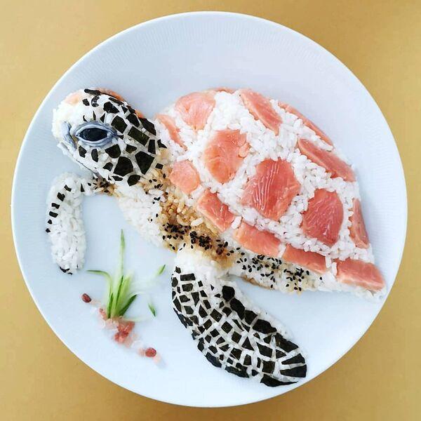 Arte culinaria di Jolanda Stokkermans, Belgio  - Sputnik Italia