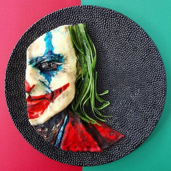 Viso del Joker, personaggio immaginario, pericoloso clown psicopatico - Sputnik Italia