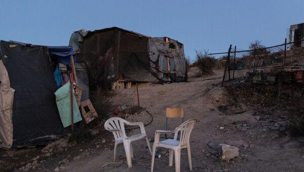 Il campo profughi Moria di Lesbo distrutto - Sputnik Italia