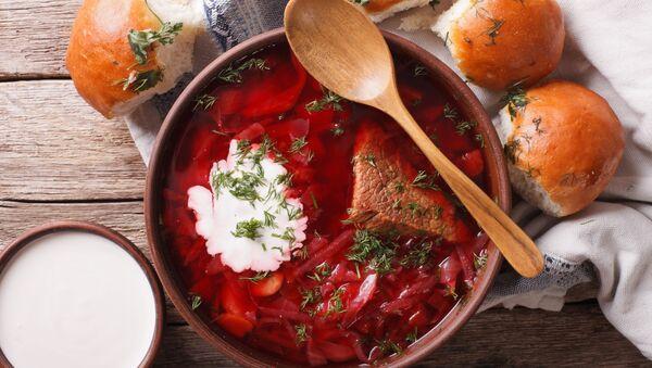 Barszcz z mięsem - Sputnik Italia