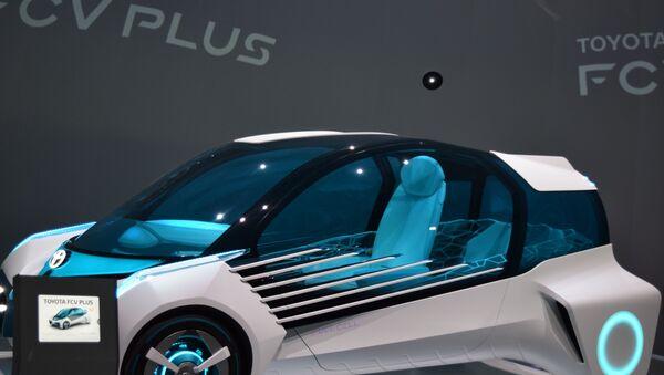 L'automobile concettuale a idrogeno di Toyota - Sputnik Italia