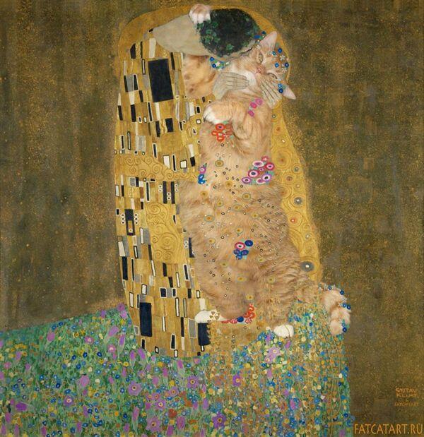 Gustav Klimt, «Il bacio», 1907-08 - Sputnik Italia