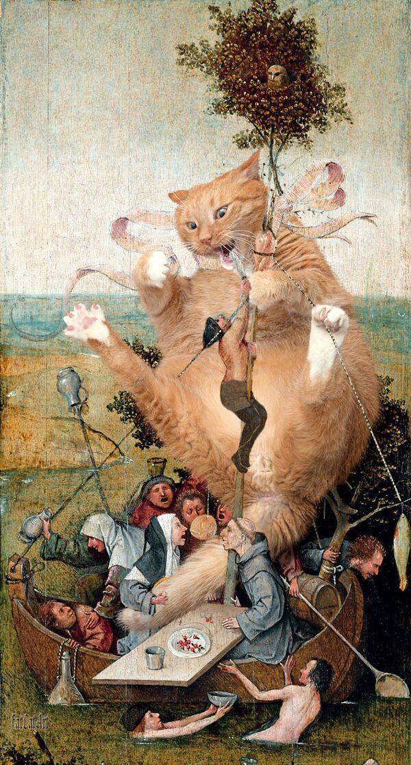 Hieronymus Bosch, La Nave dei folli, 1494 - Sputnik Italia
