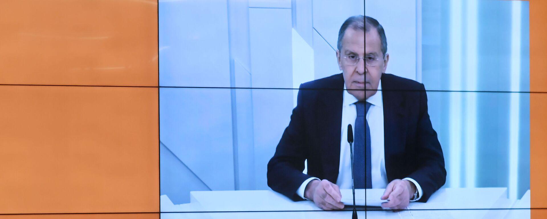 Intervista del ministro degli Esteri russo Sergey Lavrov ai corrispondenti di Sputnik - Sputnik Italia, 1920, 18.09.2020