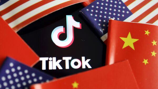 Logo TikTok - Sputnik Italia