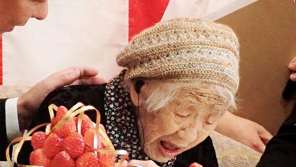 Kane Tanaka, la persona più longeva del mondo - Sputnik Italia