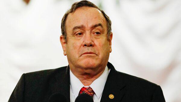 Alejandro Giammattei, presidente del Guatemala  - Sputnik Italia