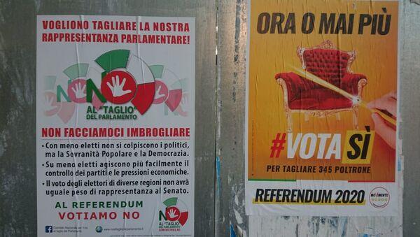Un manifesto elettorale - Sputnik Italia