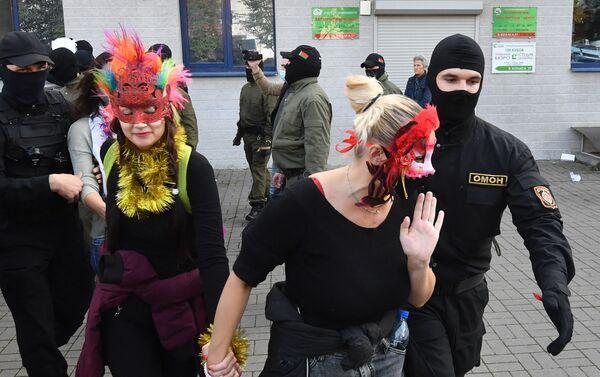 Marcia delle donne a Minsk - Sputnik Italia