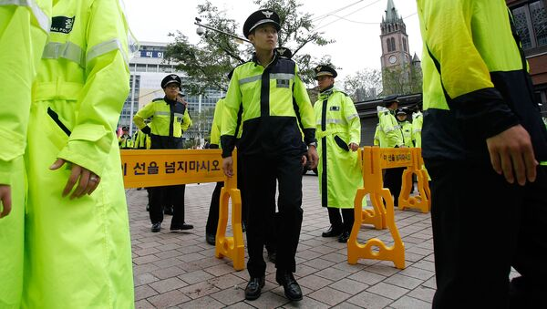 Polizia Corea del Sud - Sputnik Italia