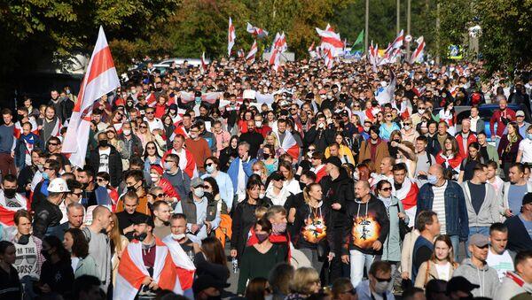 La marcia della giustizia a Minsk - Sputnik Italia