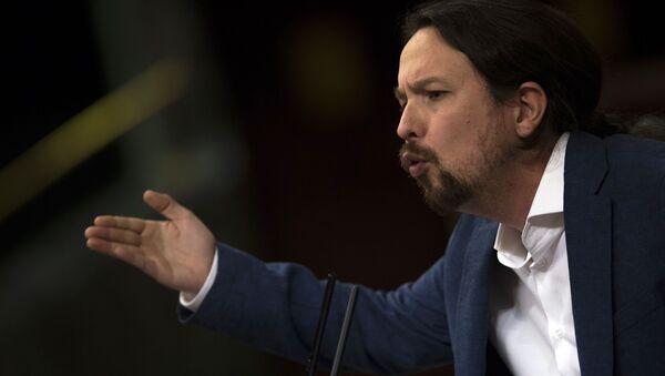 Pablo Iglesias, vicepresidente del consiglio spagnolo e segretario generale di Podemos  - Sputnik Italia