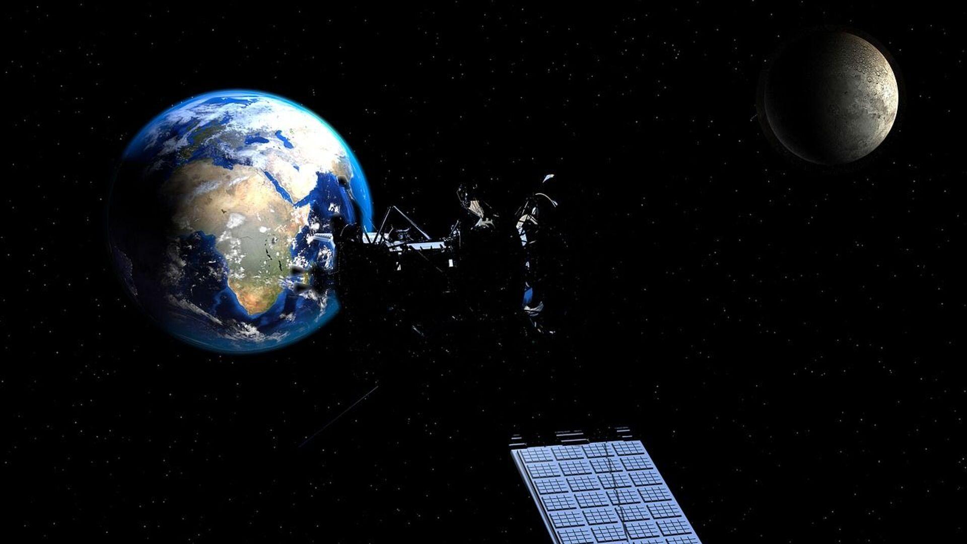 Satellite, Terra e Luna - Sputnik Italia, 1920, 22.09.2021