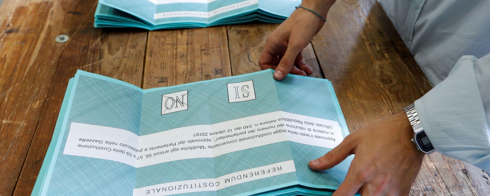 Referendum taglio parlamentari a Roma - Sputnik Italia, 1920, 01.06.2021