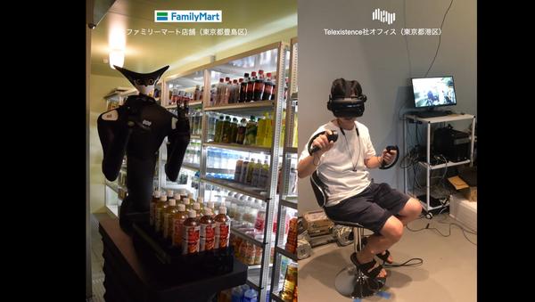 Robot Model-T in supermercato FamilyMart - Sputnik Italia